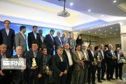 گزارش تصویری تجلیل از صنعتگران وتولید کنندگان برتر استان یزد