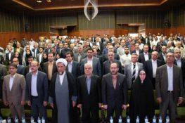 گزارش تصویری همایش گرامیداشت روز صنعت و معدن در قزوین