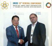 دبیرکل یونیدو در دیدار با معاون وزارت صمت مطرح کرد: اعلام آمادگی یونیدو برای توسعه همکاریهای صنعتی با ایران