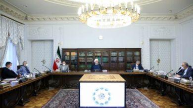 روحانی در جلسه برنامهریزی برای تحقق شعار جهش تولید و تکمیل پروژههای کلان ملی: اگر در جهش تولید هم مانند کرونا متحد و یکپارچه عمل کنیم موفق خواهیم بود