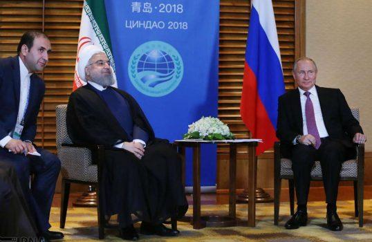 روحانی در دیدار پوتین: تهران از سرمایه گذاری شرکت ها و بخش خصوصی روسیه استقبال می کند