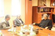 ديدار سفير ايران در سنگاپور با رییس خانه صنعت، معدن و تجارت ایران