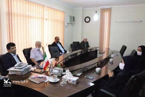 در راستای گسترش همکاریها؛ مدیرکل کانون پرورش فکری با رئیس خانه صنعت، معدن و تجارت استان گلستان دیدار کرد