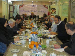 سی امین اجلاس سراسری خانه های صنعت، معدن و تجارت ایران در محل دبیرخانه مرکزی