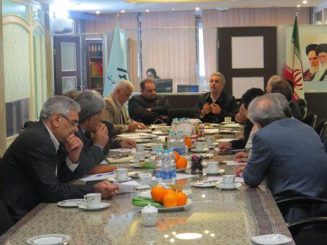برگزاری اولین جلسه کمیسیون معدن خانه صنعت،معدن و تجارت ایران در دبیرخانه مرکزی