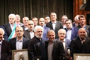 گزارش تصویری از مراسم تجلیل از صنعتگران و معدنکاران نمونه استان تهران