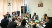 دیدار رییس و نایب رییس خانه صنعت، معدن و تجارت ایران با رییس سازمان بهزیستی کل کشور