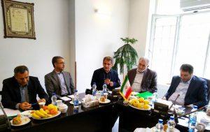 نشست مدیران خانه صنعت، معدن و تجارت ایران  با قائم مقام وزیر